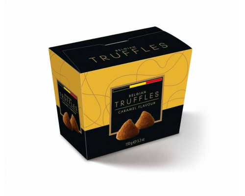 Belgian Truffles Трюфели  со вкусом карамели (caramel flavour) 150г