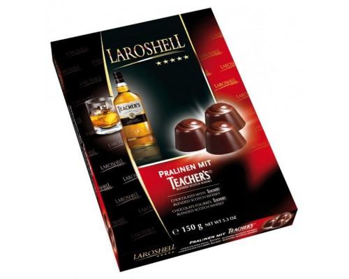 Ла Рошель Шоколадные конфеты виски Тичерс, 150г
