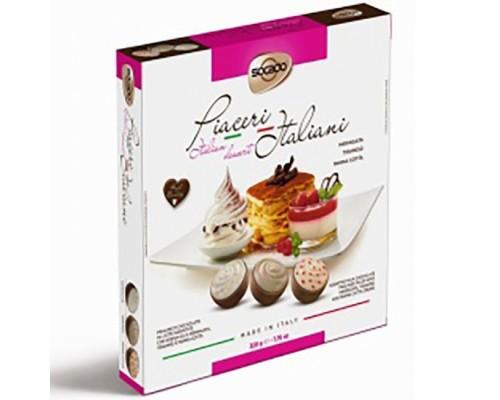 Сокадо Итальянский десерт шоколадные конфеты  220 гр