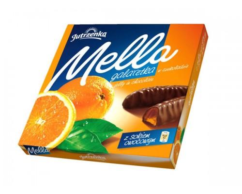 Мелла Апельсин мармелад в шоколаде 190 гр