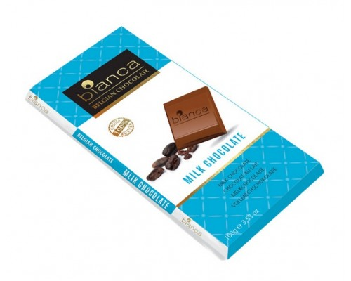 Bianca шоколад  молочный (milk chocolate) 100г