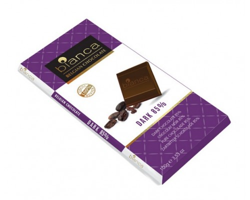 Bianca шоколад  темный  85% (dark 85%) 100г