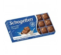 Шоколад Schogetten Альпийский молочный 100гр