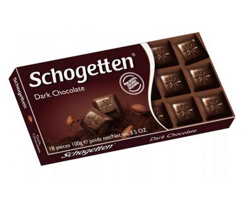 Шогеттен Горький шоколад 100гр