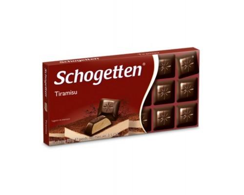 Шогеттен Горький шоколад с тирамису 100гр