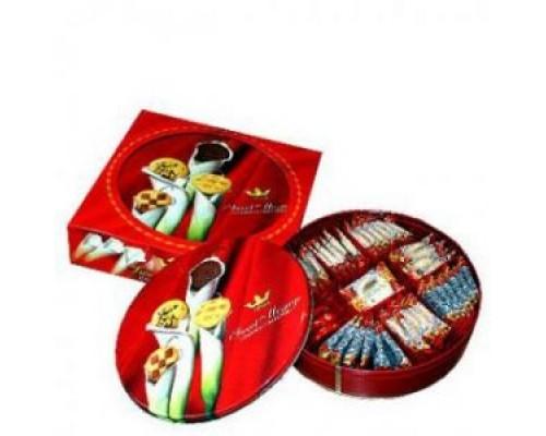 Татава Sweet Message печенье 600 гр шоколад.крошка, ананас