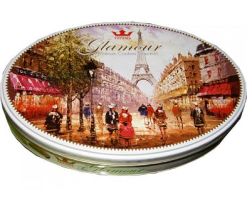 Татава Гламур печенье 250 гр  овал