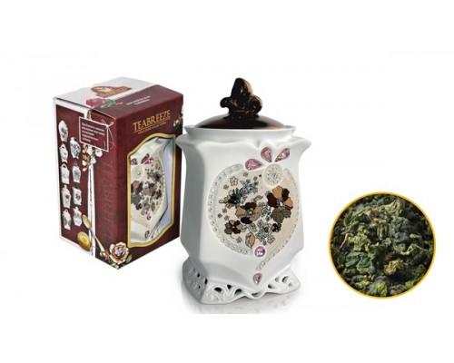 Тибриз Чай Оолонг Ти Гуан Инь Керамическая чайница 100гр.