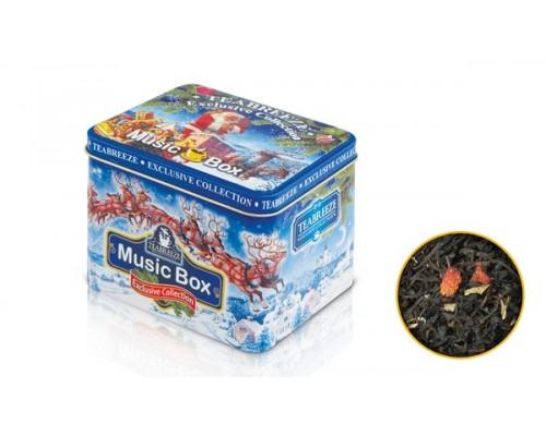 Чай Земляника со сливками музыкальная шкатулка 100гр