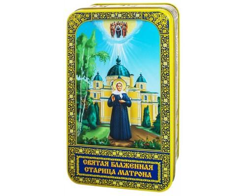 Чай Матрона  подарочная шкатулка  60гр.