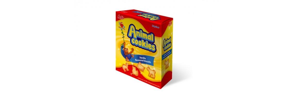 Новинка! Печенье Нефис ANIMAL  250гр.