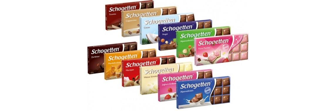 Шоколад Шогеттен 100гр., Германия от 89руб.!!!