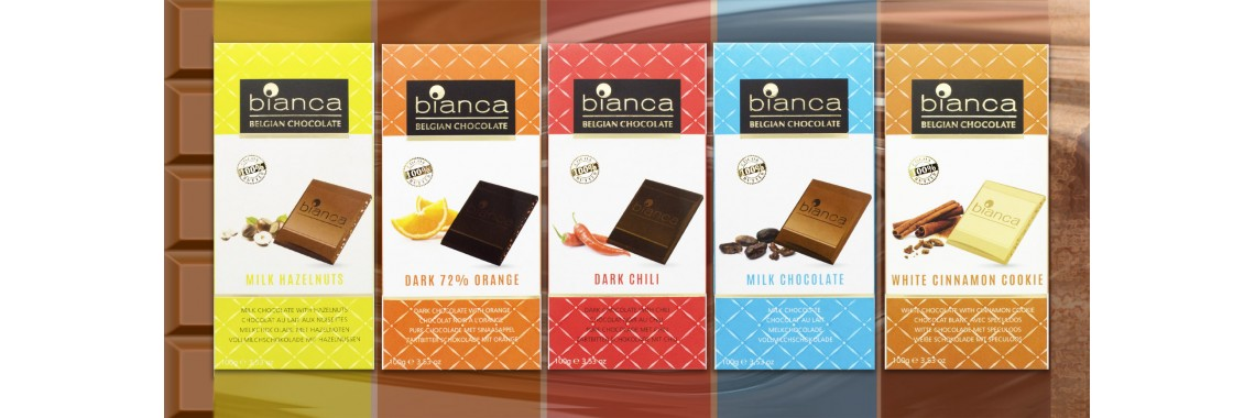 В продаже настоящий бельгийский шоколад Bianca!