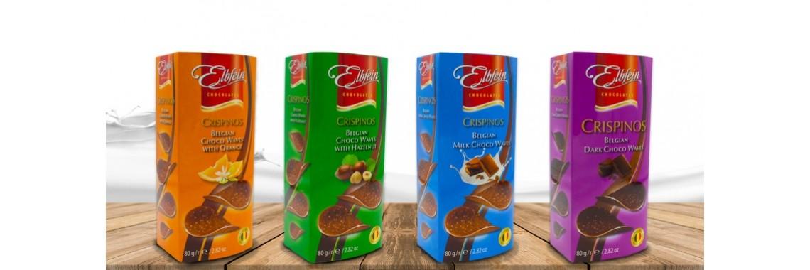 Новинка! Шоколадные чипсы Eldfein 4 вида от 149 руб.!