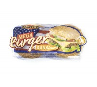 Булочка для Мега бургера Quickbury  с кунжутом (4шт.х75г) 300г