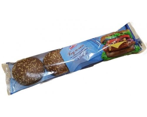 Булочка для Гамбургера  Ист Болт Рус из пшенично-ржаной муки с кунжутом (4шт по 60гр)  240гр[1/12шт]