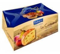 Кулич Battistero Colomba La Contadina персик, яблоко, груша 750гр