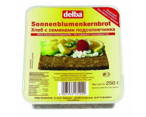 """Хлеб Делба  """"Sonnenblueme """"  с семенами подсолнечника   250гр"""