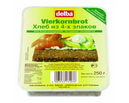 """Хлеб Делба """"Vierkorn""""4 злака 250гр"""