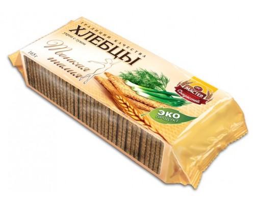 Хлебцы Тонкая талия Мастер Сладостей с укропом и луком 165гр