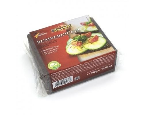 Хлеб Quickbury  Pumpernickel (ржаной, грубого помола) 500гр.