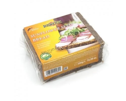 Хлеб Quickbury Sonnenblueme хлеб (с семенами подсолнечника) 500гр.