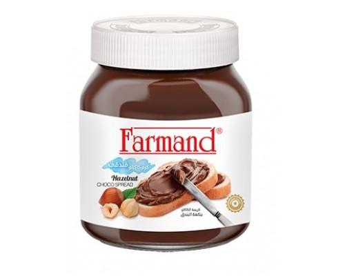 Шоколадная паста Farmand с фундуком 330гр