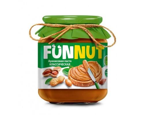 Funnut  Арахисовая паста классическая 340гр