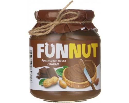 Funnut  Арахисовая паста с какао 340гр