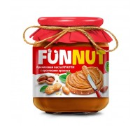 Funnut  Арахисовая паста Кранчи ( с арахисом)  340гр