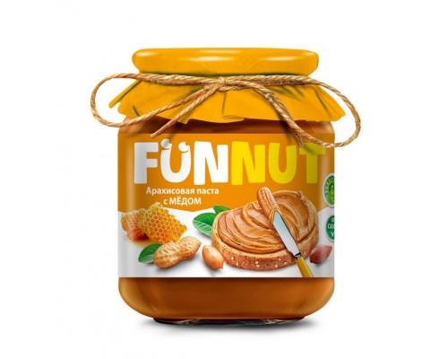 Funnut  Арахисовая паста с медом 340гр