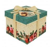 Кулич пасхальный Panettone VALENTINO с изюмом  в подарочной коробке 1000г
