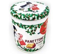 Кулич пасхальный Panettone VALENTINO с изюмом и цукатами жесть 1000г
