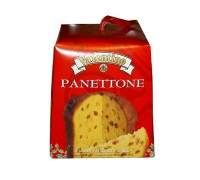 Пасхальный кулич итальянский панеттоне с изюмом и цукатами VALENTINO 500г