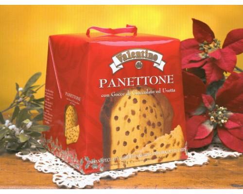 Кекс VALENTINO с кусочками шоколада 750г