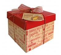 Кулич пасхальный Panettone VALENTINO с изюмом и цукатами в подарочной коробке 1000г