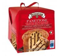 Кулич пасхальный Panettone VALENTINO  с шок.кремом и кусочками шоколада 750г