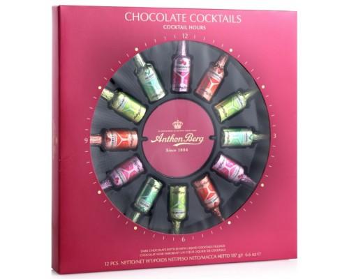 Ассорти шоколадных конфет  ANTHON BERG с коктейльной начинкой 187 гр