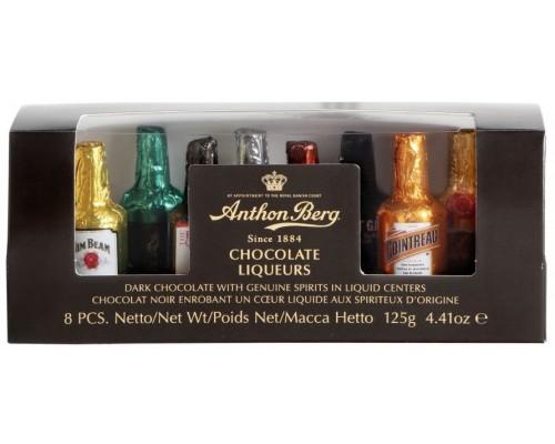 Ассорти шоколадных конфет  ANTHON BERG с премиальным алкоголем 125 гр