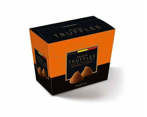 Belgian Truffles Трюфели  со вкусом апельсина (orange flavour) 150г