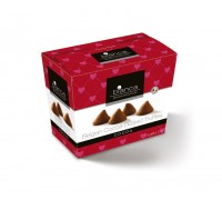 Шоколадные трюфели Bianca со вкусом какао (cocoa) Cердечки 175г