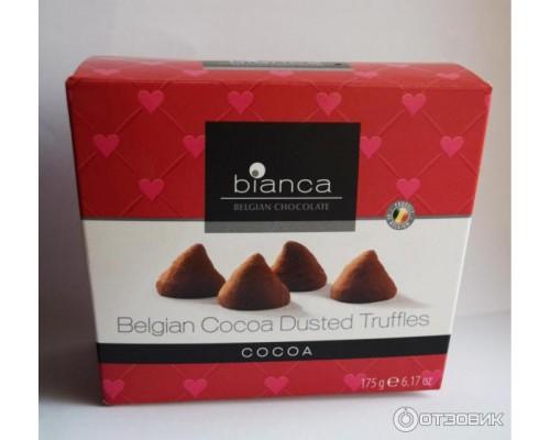 """Bianca трюфели со вкусом какао (cocoa) """"Cердечки"""" 175гр"""