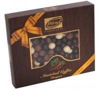 """Шоколадное драже BIND """"Кофе в шоколаде"""" mix шоколад 100гр."""