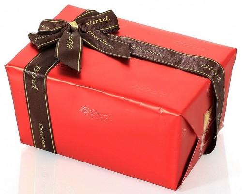 """Шоколадных конфеты Bind  """"Красный сундучок""""  110 гр."""