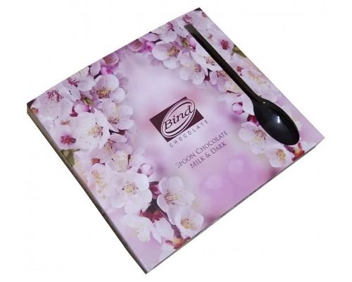 """Набор фигурного шоколада  BIND  """"Шоколадная Ложечка микс"""" 54 гр."""