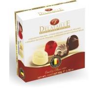DELAFAILLE  Ассорти шоколадные конфеты квадратная коробка 50 гр