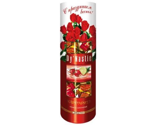 Династия Маргарита  шоколадные конфеты  туба 195гр.