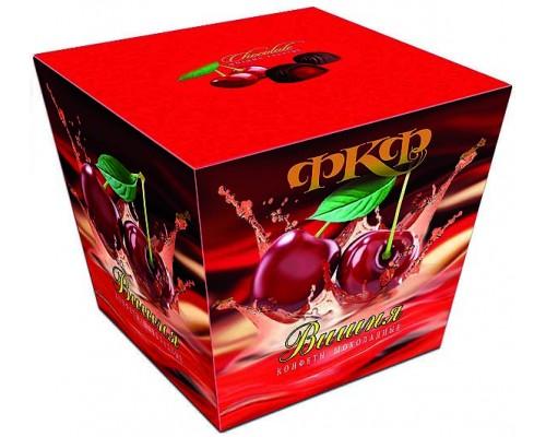Династия Вишня - шок. конфеты с ликерной начинкой 180гр.