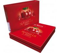 Шоколадные конфеты вишня в ликере Dy'Nastie сумочка 220г