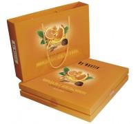 Шоколадные конфеты Dy'Nastie Миндаль с апельсином сумочка 205 гр